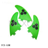 best surf fins - New hot sell surfing GAM fins best surfboard fins SIZE XL with fiberglass honey comb material for surfing fcs surfing fins
