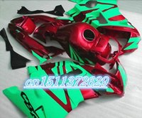 Cheap for green red black fairing kits for 91 92 93 94 CBR 600 F2 CBR600 F CBR600 F2 1992 1993 1991 1994 fairng sets