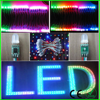 Wholesale 5V mm Fullcolor led pixel light led signage outdoor color change advertising signs building decoraion