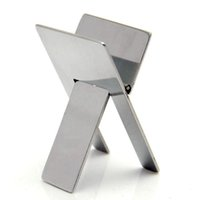 ashtray stands - High Quality Practical Stainless Steel Foldable Portable Cigar Stand Ashtray Holder Bracket