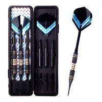 aluminum shaft - D229 g g Tip Soft Darts Needle Aluminum Dart Shaft black Dart Flights Throwing Toy
