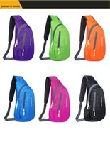 Wholesale Outdoor skin bags waterproof women s men s Messenger bag chest packs ride baodan shoulder bag casual outdoor sport packages