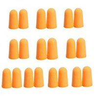 Wholesale Pairs Soft Orange Foam Ear Plugs Tapered Travel Sleep Noise Prevention Earplugs Noise Reduction For Travel Sleeping F OS