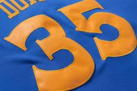 Wholesale Kevin Durant Basketball Jerseys Blue white throwback color Drop Shipping