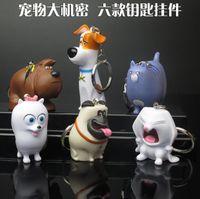 animation modelling - The Secret Life of Pets styles CM PVC animation model Keychain kids toys