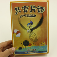 Wholesale dixit cards board game multi instruction offered high quality suitable for kid cards game