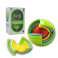 Wholesale 50pieces Brand New Kids Toy Intellent Ball Puzzle Small Maze Ball Toys Early Educational Toys For Children