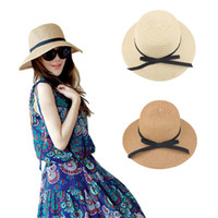 Wholesale 20 Summer Style Child Sun hats Beach Sunhat Fedora hat Trilby Straw panama Hat girl Gangster Cap Fit For Kids Women