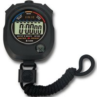 Wholesale Sports Timer Counter Digital Sports Stopwatch Professional Handheld LCD Chronograph Sports Stopwatch Timer Stop Watch