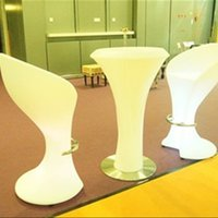 Wholesale Direct waterproof LED light bar stool chair chairs stylish entertainment emitting furniture tall remote control