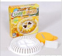 baked potato grill - Fahion DIY microwave oven baked potato chips microwave oven grill basket cutter