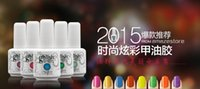 Wholesale 2016 hot Fashionable Gelish Nail Polish Soak Off Nail Gel For Salon UV Gel Colors mla