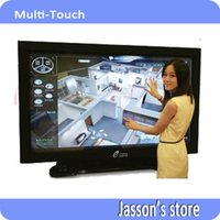 Wholesale No Ghost Points quot Points Touch Multi Touch Screen Overlay without Glass Suitable For Interactive Displays