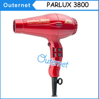 Wholesale AAA quality Parlux Professional Hair Dryers High Power W Easy dry Ceramic Ionic Hair Blower Salon Styling Tools Drop shipping
