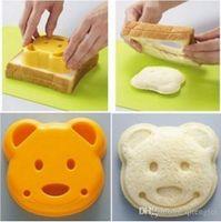 Wholesale Japan DIY cute Bear Sandwich Bread Dessert Rice Toast Stamp Mold Cutter Tool Kit ZH
