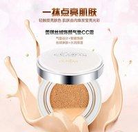 Wholesale Velvet yan air cushion CC cream water embellish moisturizing Carry bright color of skin whitening block defect