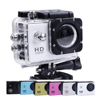 Wholesale SJ4000 degree wide angle lens inch LCD sports DV Full HD P m waterproof outdoor action video camera