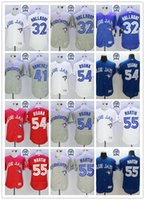 army camo jerseys - 2016 Flexbase Stitched Toronto Blue Jays Aaron Sanchez Halladay Osuna Martin Blue Red Gray White Camo MLB Jersey Mix Order