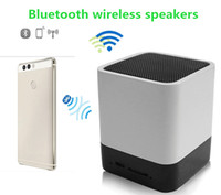 audio input - High quality Wireless Bluetooth speaker Stereo Speaker Support AUX Audio Input Handsfree Call LED Shinning Time Alarm Clock speaker