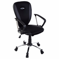 Wholesale Goplus Modern Ergonomic Computer Task Executive Mid Back Desk Office Chair Black
