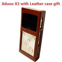 agent audio - with high quality Leather case gift XDUOO X3 HIFI MP3 digital audio lossless Music Player Authorize Agent