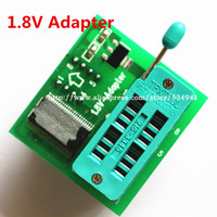 Wholesale V adapter for Iphone or motherboard V SPI Flash SOP8 DIP8 W25 MX25 use on programmers TL866CS TL866A EZP2010 EZP2013 CH341