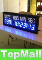 Wholesale LAI Blue LED Countdown Clock In Days Hours Minutes Seconds Every Hours Decrease Day Countdown And Count Up Days Until Event For Gift Of