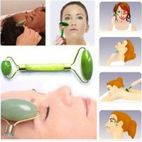 Wholesale New Facial Relaxation Slimming Tool Jade Roller Massager For Face Body Head Neck Foot Massaging For Women Lady