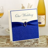 Wholesale Blue Wedding Guest Book Wedding Favors Wedding Supply Signature Book
