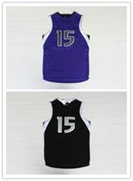 Wholesale 2016 New Kings DeMarcus Cousins Fashion sport jerseys Mens Cousins Style sports jersey Clothes Black Purple Clothing