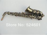 antique bakelite - Henry Replica Selmer R54 Saxophone Antique Copper Simulation Eb Alto Sax Brass Alto Saxophone Green Bronze Saxfone Mouthpiece