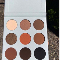 bare makeup palette - 2016 New Kylie Cosmetics Bronze Eyeshadow KyShadow Palette Waterproof Natural Color Color Earth Color Eye Shadow Plate Smoked Bare Makeup