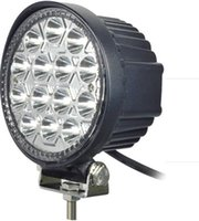 30 Degree 3500 4.5 Super Bright Round Led Work Light High Power 42W Epistar LED Working Light Off-Road SUV ATV 4WD 4x4 Flood Beam 10-30V IP68