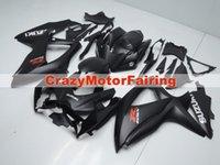 Precio de Suzuki gsxr750 fairing-3 regalos nuevo carenado para SUZUKI GSX R600 K8 08 09 10 R750 GSXR750 GSXR600 GSXR 600 750 2008 2009 2010 carenados Kits Estilo fresco negro mate