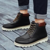 Wholesale 2016 Martin boots male leather boots high boots men short boots for male restoring ancient ways of England in the summer of tooling fall bo