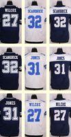 Wholesale 2016 New Men s Orlando Scandrick Byron Jones J J Wilcox White Blue Top Quality jerseys Drop Shipping