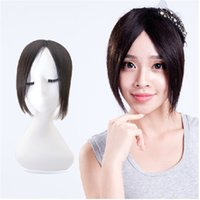 bangs hairpiece clip - Fringe clip In on bangs straight hair extensions brown black bangs synthrtic bangs hairpiece women hair