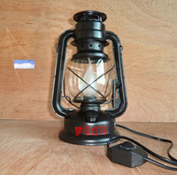 Wholesale lantern table lamp kerosene lamp vintage bed lighting modern decoration LED lamp