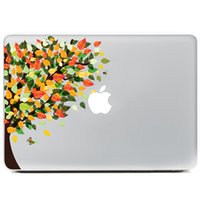 apple tree leaves - Colored leaves Trees Stickers for inch Macbook apple notebook sticker color personality