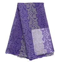 Wholesale excellent fashion french net lace fabric B109 african tulle lace fabric yards african net lace fabric