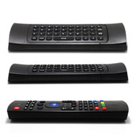 Wholesale 50pcs High Quality G Remote Control Air Mouse Wireless Keyboard for MX3 Android Mini PC TV Box Voice Micphone