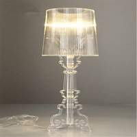 Wholesale Wonderland Modern quot Ghost Shadows quot Bedroom Bedside Table Lamps With Shade LED Table Lamp E14 V V Reading Desk Lights Home