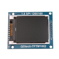 Wholesale In stock Power IC SD Socket X160 quot Serial SPI TFT LCD Module Display PCB Adapter DropShipping