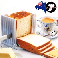 bakery bread slicer - 1 Bread Slicing Tools Bread Loaf Toast Sandwich Slicer Cutter Mold Maker bakery and pastry tools kitchen tools