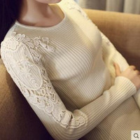 Wholesale 2016 new arrival fashion women Spring autumn winter thicken collar sexy pullover knitted sweater women s long fitted sweater dress