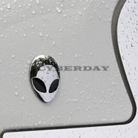 alien body - 3D Car Stickers Metal Alien Emblem Badge Car Styling motorcycle Car Accessories for bmw mazda opel peugeot ford focus vw