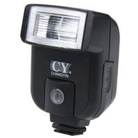Wholesale Hot Sale CY Universal Hot Shoe Sync Port Camera Electronic Flash Speedlite Flash Lamp For Digital Camera