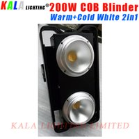 audience lights - New Design Silent Fan Pixel W Warm White Cold White in1 LED COB Audience Blinder Light