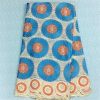 Wholesale Swiss Voile Lace Cotton lace fabric high quality in yards