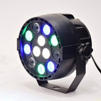 4 Channels 110V DMX 512 Flat led par stage light rgbw 12x3W disco party lights laser dmx luz Dj effect controller Dj Equipment projector luces discoteca